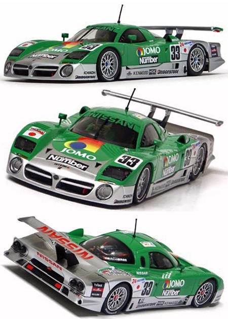 Slot It SICA14D Nissan R390 GT1 #33, LeMans 1998