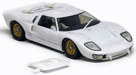 Slot It SICA20Z Ford GT40 MkII, all white