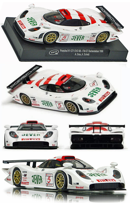 Slot It SICA23A Porsche 911 GT1-98 Jever