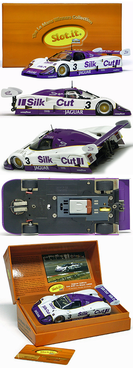 Slot It SICW11 Jaguar XJR12, LeMans winner 1990