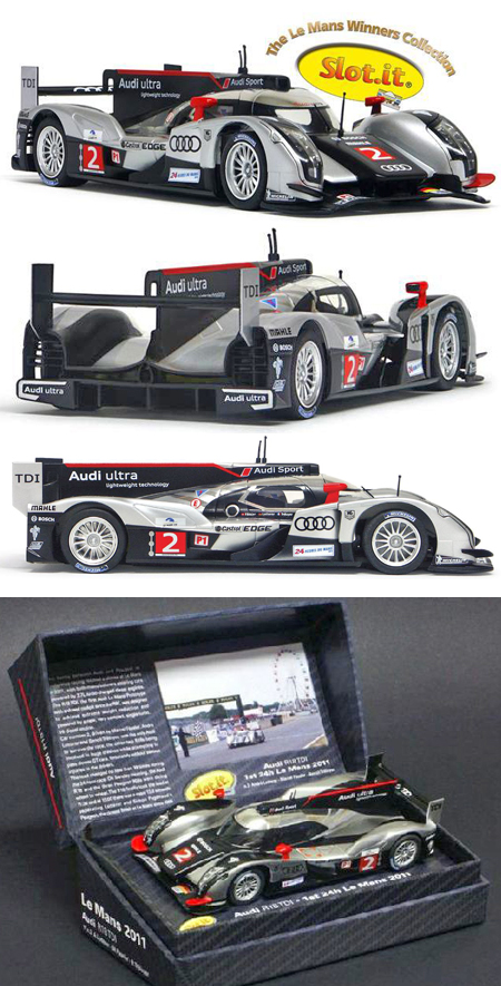 Slot It SICW12 Audi R18 2011 LeMans winner