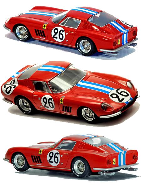 Racer SL17 Ferrari 275GTB #26, LeMans 1966