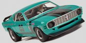 Scalextric C3318 1970 Mustang, Mike Folsom (C)
