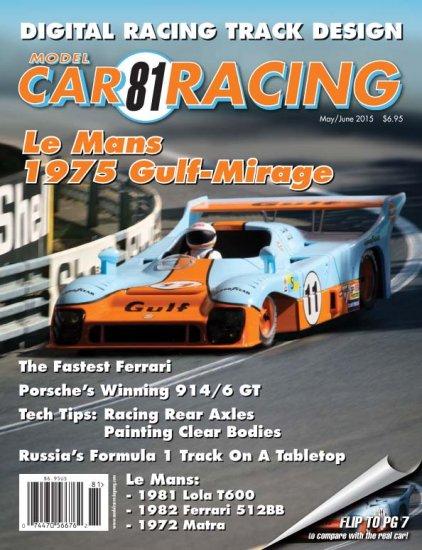 MCR81 Model Car Racing Magazine, May/June 2015 (C