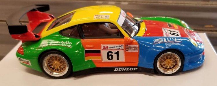 Revo Slot RS0018 Porsche 911 GT2 Krauss #61 [RS0018
