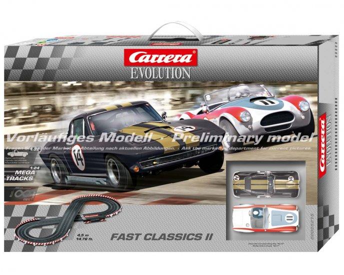 Carrera 25215 Fast Classics II set 1/32 scale analog [25215
