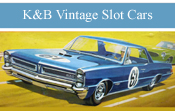 K&B Vintage Slot Cars