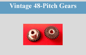 Vintage 48-Pitch Gears