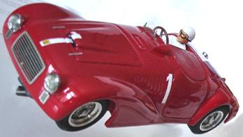BSR032/1P Ferrari 166, Pescara 1948, painted KIT