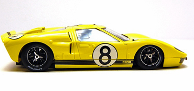 NSR 1060 Ford MkII, yellow, LeMans 1966