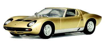 Autoart 13112 Lamborghini Miura Gold Lighted C 13112 69 95