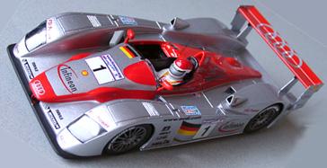 LeMans Miniatures 132013M Audi R8, 2002 LeMans winner(C