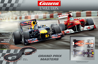 Carrera 25185 Grand Prix Masters race set