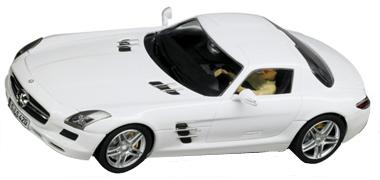 Carrera 27345 Mercedes SLS AMG, white
