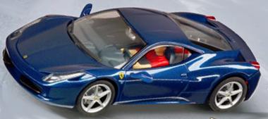 Carrera 27362 Ferrari 458 Italia, blue