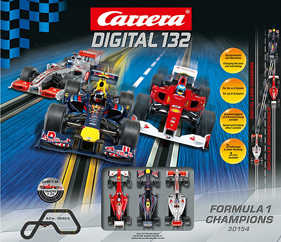 Carrera 30154 Formula One Champions race set, Digital 132