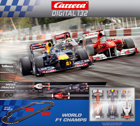 Carrera 30157 World F1 Champions set, Digital 132