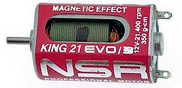 NSR 3023 King Motor Evo3 magnetic effect, 21,400 RPM