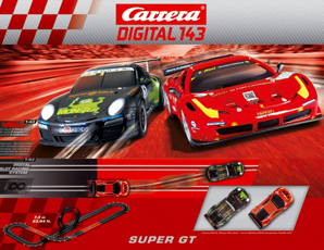 Carrera 40014 Super GT race set, Digital 143