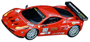 Carrera 41352 Ferrari 458 GT2, red #062, Digital 143