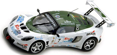Ninco 50540 Lotus Exige rally car, Vallejo