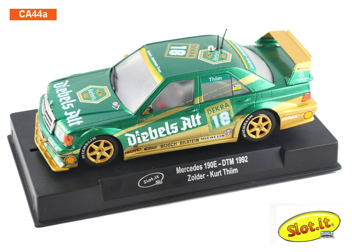 Slot It SICA44A Mercedes 190E DTM/ETC 'Diebels Alt' Zolder DTM 1992