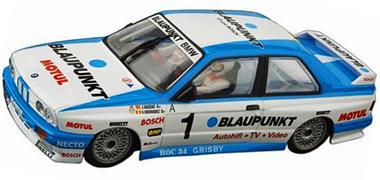Ninco 60019 BMW E30, Blaupunkt, 1/28 scale, plastic chassis