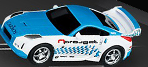 Carrera 61186 GO! Nissan 350Z, 1/43 scale