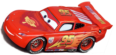 Cars 2  Lightning McQueen ...  sc 1 st  Electric Dreams & Carrera 61193 GO! Cars 2 Lightning McQueen 1/43 scale [61193 ...