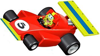 Carrera 61230 GO! Spongebob Squarepants, 1/43 scale