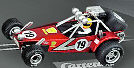 Carrera 61233 GO! Dune buggy red, 1/43 scale