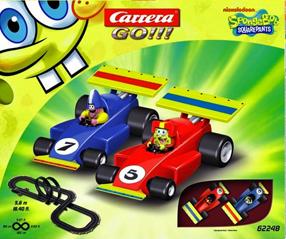 Carrera 62248 GO! Spongebob race set 1/43 scale