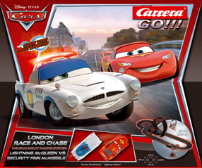Carrera 62277 London Race and Chase set, 1/43