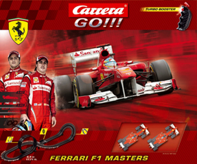 Carrera 62280 Ferrari F1 Masters set, 1/43 scale