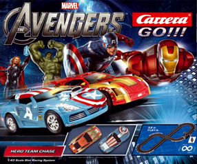 Carrera 62283 Avengers race set, 1/43