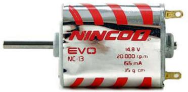 Ninco 80618 NC13 Evo motor FK130, 20,600 RPM