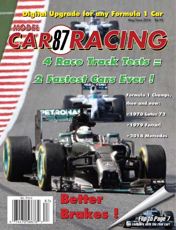 MCR87 Model Car Racing Magazine, May/June 2016