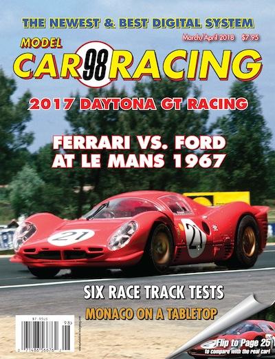 MCR98 Model Car Racing magazine March/April 2018 [MCR98