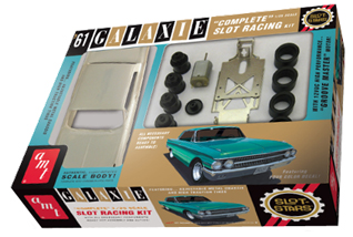 AMT 783 1961 Ford Galaxie 1/25 scale slot car KIT