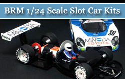 BRM 1/24 Scale Slot Car Kits