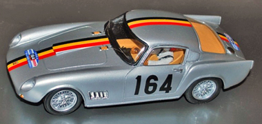 Proto Slot BSR016-2P Ferrari 250TDF 1958 silver PAINTED BODY KIT