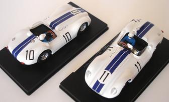"BSR025P Lister Jaguar ""Knobbly"" Riverside 1958 painted body kit"