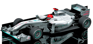 Scalextric C3146 Mercedes GP Petronas 2010