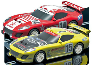 Scalextric C3164 START pro racing twin pack