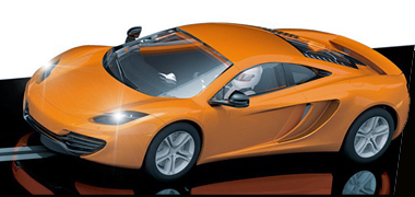 Scalextric C3200 McLaren Mp4-12C, orange