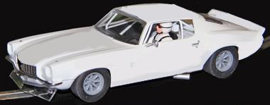Scalextric C3245 1970 Camaro TransAm car, white