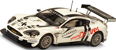 Scalextric C3293 Aston Martin DBR9, Young Driver