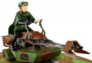 Scalextric C3298 Star WarsSpeeder Bike, Luke Skywalker