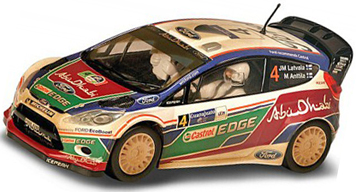 Scalextric C3300 Ford Fiesta RS WRC, weathered