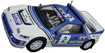 Scalextric C3407 Ford RS200, 1991 rallycross championship.